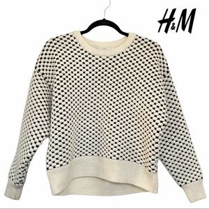 H&M Knitted Pullover Sweater